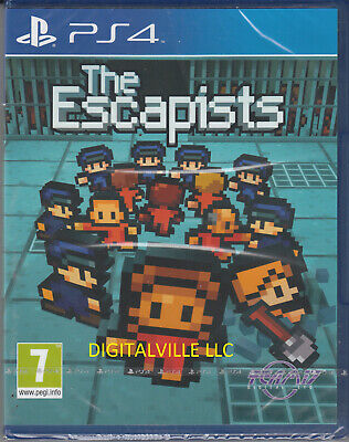 The Escapists 1 PS4 Sony PlayStation 4 Brand New Factory Sealed