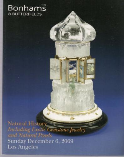 Pearls Gemstone Natural History BONHAMS 2009 Carvings Fossils Jewels Tools Amber
