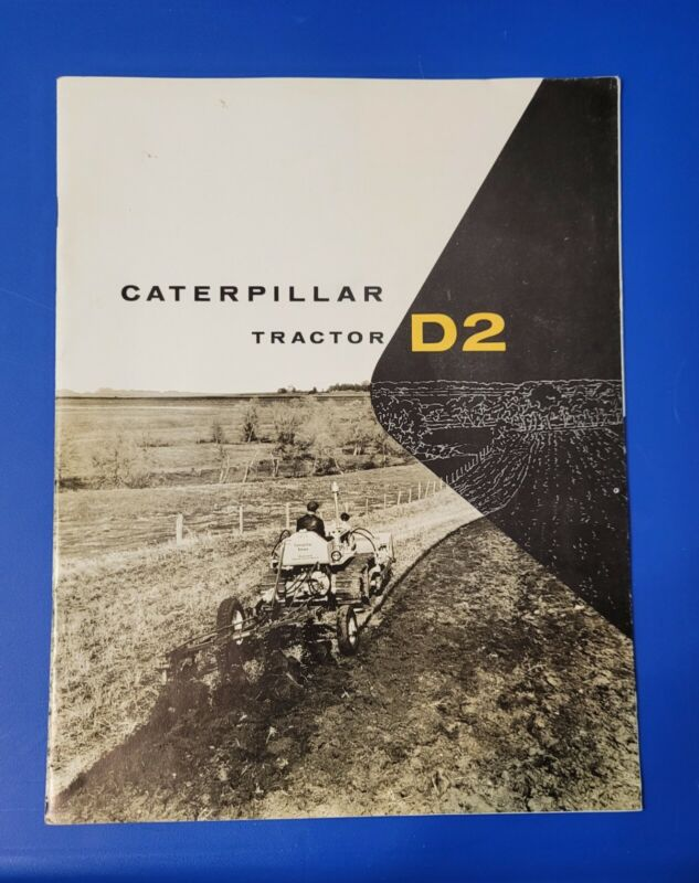1955 Caterpillar D2 Tractor Catalog Brochure 23 Pages Complete Very Good