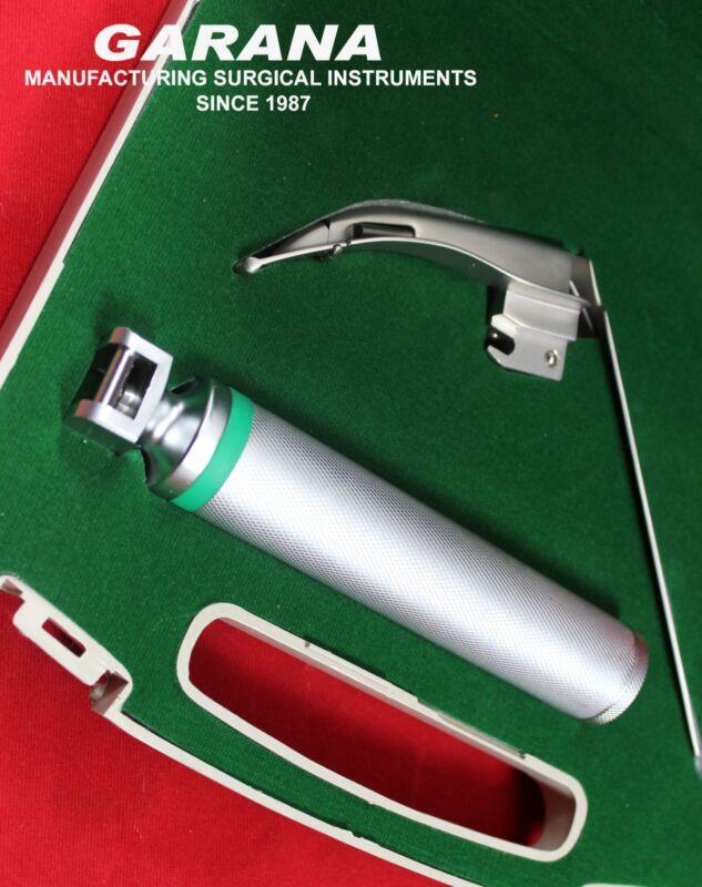 McCoy MACINTOSH Laryngoscope Flexible Tip Blade # 1 Fiber Optic