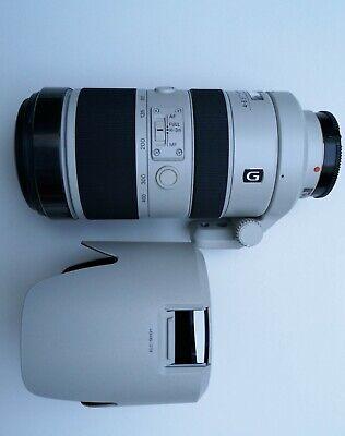 Sony SAL70400G2 - Alpha 70-400 mm F/4.0-5.6 II SSM G Zoom A-Mount Lens