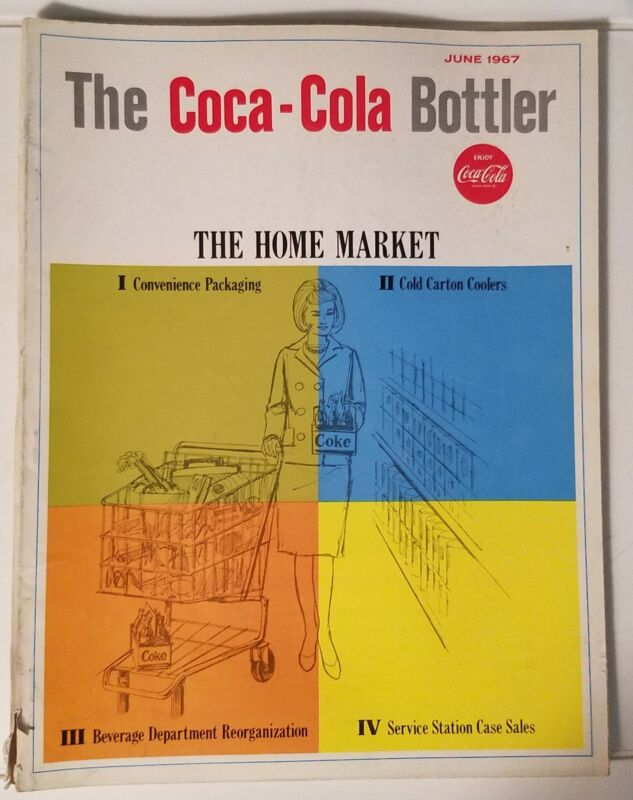 THE COCA-COLA BOTTLER - VINTAGE MAGAZINE - JUNE 1967