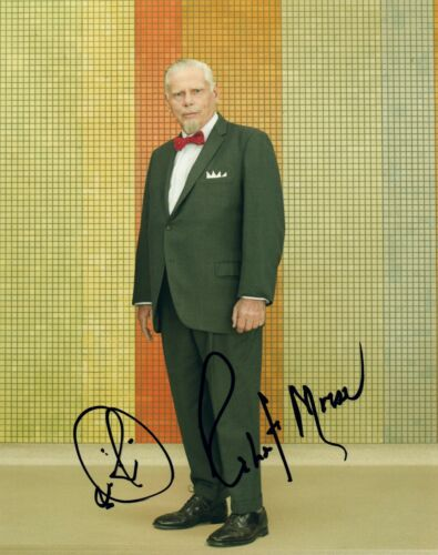 Robert Morse Signed Autographed 8x10 Photo MAD MEN Actor COA