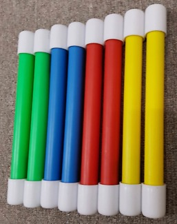*BRAND NEW* SWIMMING POOL DIVING STICKS - SET OF 8 - GR8 QUALITY