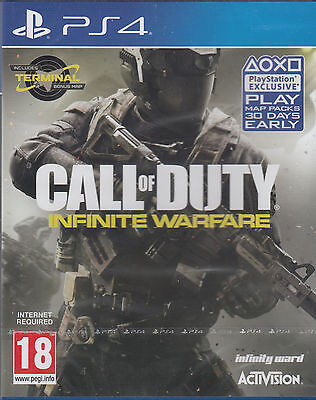 Call Of Duty Infinite Warfare Ps4 Zombies Terminal Map Sony Playstation 4 New