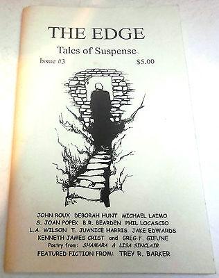 The Edge, Tales of Suspense #3 - US digest - 1999 - Editor: Greg F. Gifune