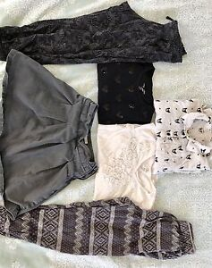 Girls clothing lot size 8-9