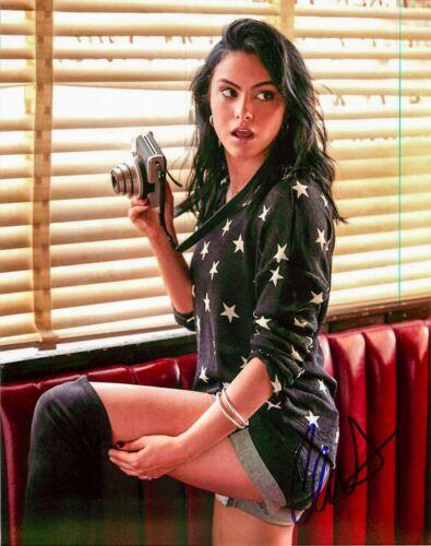 *RIVERDALE* Camila Mendes Signed Veronica Lodge 8x10 Photo E Proof COA