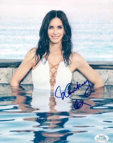 Courteney Cox Signed Autographed 8x10 Photo FRIENDS Actress ACOA