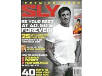 Dollhouse 1:12 scale OPENING 1 Mini Vintage /'Playgirl/'  MAGAZINE Sly Stallone