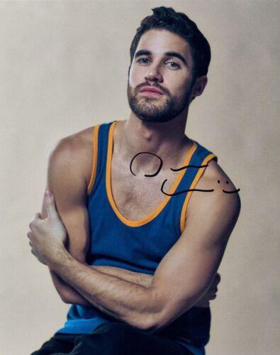 Darren Criss Signed Autographed 8x10 Photo GLEE Handsome Actor COA