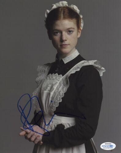 Rose Leslie Downton Abbey Autographed Signed 8x10 Photo COA