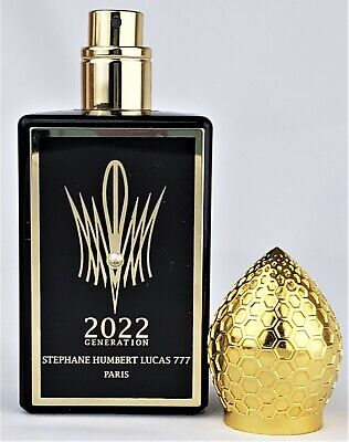 Stéphane Humbert Lucas 777 2022 Generation Homme 50ml Authentic Fast Shipping!