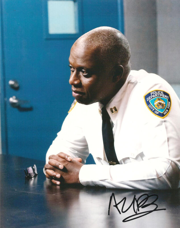 ANDRE BRAUGHER SIGNED 8x10 PHOTO EXACT PROOF COA AUTOGRAPHED BROOKLYN NINE NINE