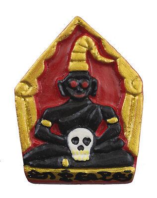 Amulet thai Phra Guy Nang Magic Talisman Voodoo Wealth Charm Amour 1439