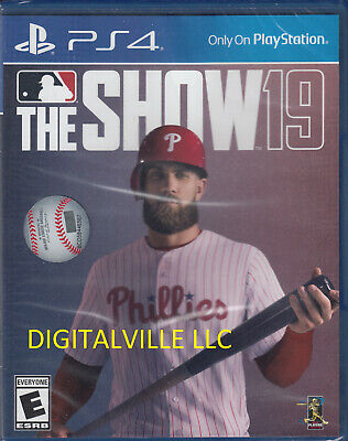 The Show 19 PS4 MLB Brand New Factory Sealed