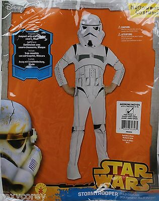 Halloween Star Wars Boys Stormtrooper Child Costume Size Large 12-14 Age 8-10 (Stormtrooper Costume Boys)