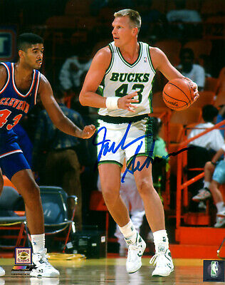 16x20 Hall Of Fame Photo - Milw Bucks JACK SIKMA Signed 16x20 Photo #1 AUTO - Hall of Fame - 7 x All Star