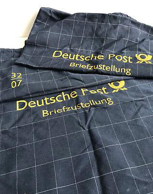 Postsäcke 2 Stück Stoff Deutsche Post Briefzustellung Stoffsack Postsack Sammler