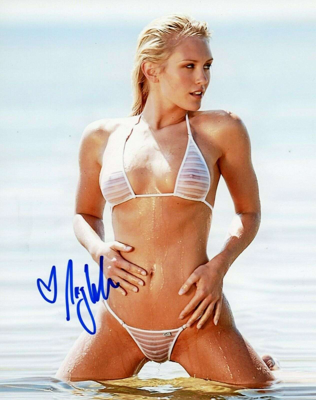 "NICKY WHELAN Hand Signed 8x10 Photo Reprint W@W ""SEXY HALL PASS"""
