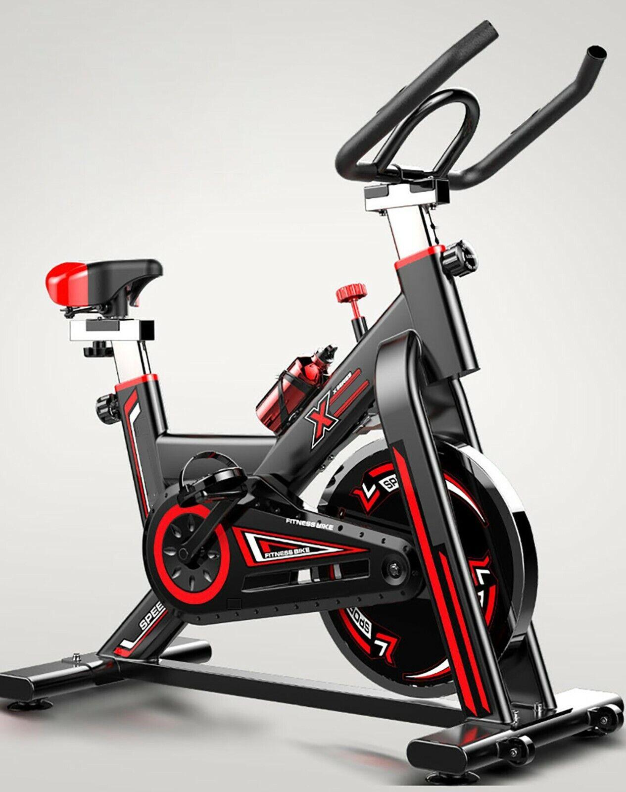 Bicicletta Daspinning indoor regolabile display LCD volante inerzia 16kg GOSPORT