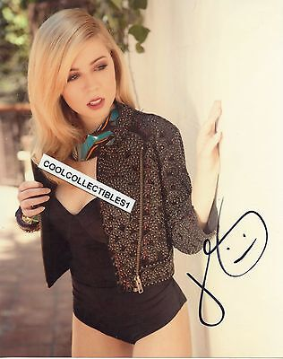 JENNETTE MCCURDY IN PERSON SIGNED 8X10 COLOR PHOTO