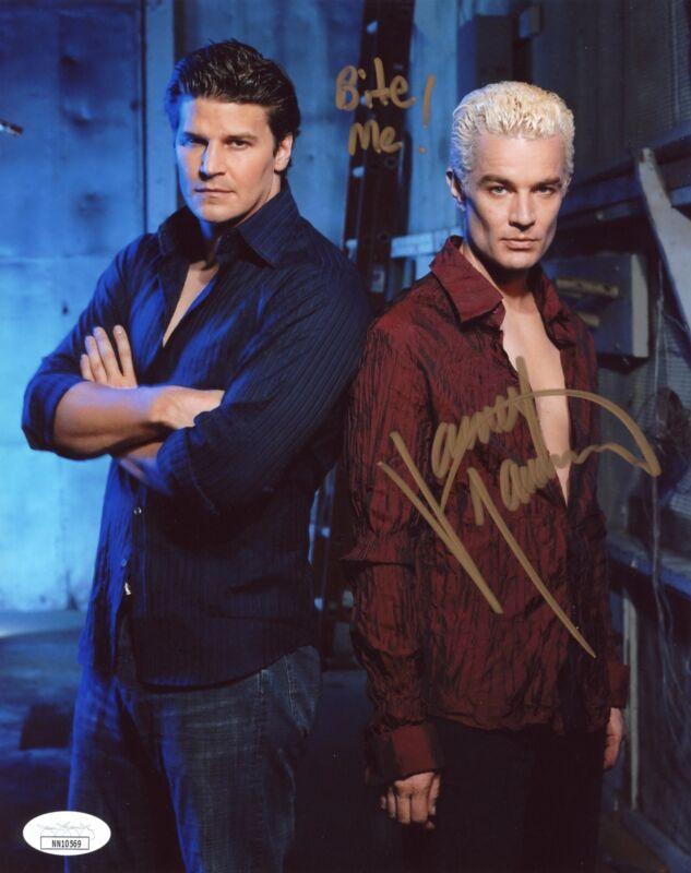 James Marsters Buffy the Vampire Slayer 8x10 Photo Signed Autograph JSA Cert COA