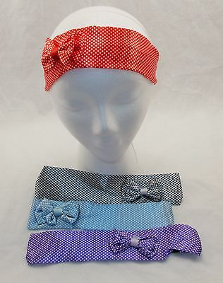 New 4 Colors Polka Dot with Bow 2