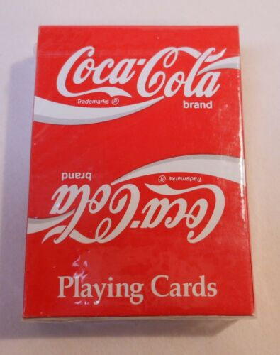 Coca Cola Sealed Deck of Playing Cards