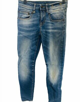R13 jeans size 24 Boy skinny jean Branson made in Italy