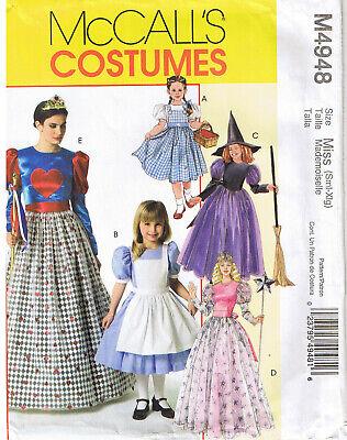 Misses Queen von Herz Glinda Alice Dorothy Gute Bad Hexe Kostüm Nähen - Gute Hexe Kostüm Muster