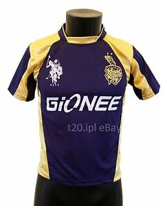 IPL Kolkata Knight Riders 2015 2014 Jersey / Shirt, T20, Cricket India ...
