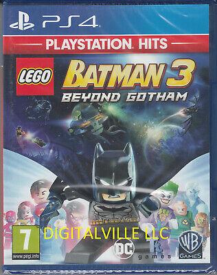 Lego Batman 3 Beyond Gotham PS4 Brand New Factory Sealed PlaySation 4