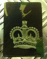 Ejército Británico Genuino Camuflaje De Bosque Sargento Mayor Parche De Rango / -  - ebay.es