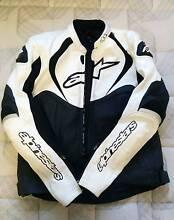 ALPINESTARS motorbike Leather Jacket Greenacre Bankstown Area Preview
