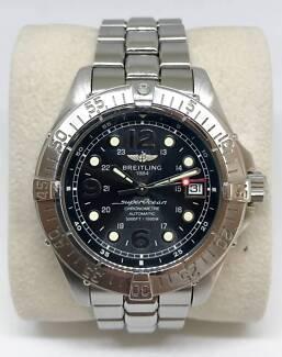Breitling Superocean Steelfish 42mm Black Dial Diver Watch