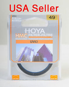 Hoya 49mm UV(C) HMC UV filter, Multicoated MC, brand new. Fast Shipping