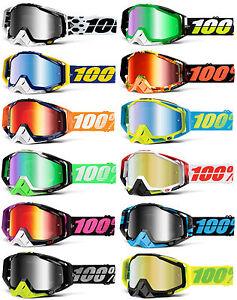 100 racecraft lunettes de motocross mx lentille miroir. Black Bedroom Furniture Sets. Home Design Ideas