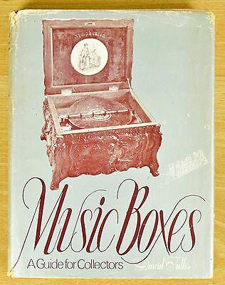 Buch: MUSIC BOXES - Spieldose Spieluhr musical objets music box automaton