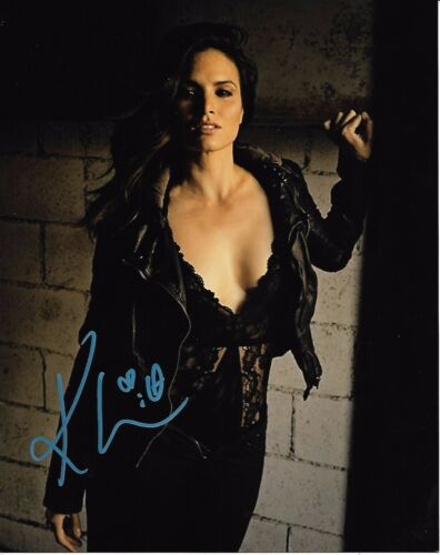 Katrina Law Arrow Autographed Signed 8x10 Photo COA #8