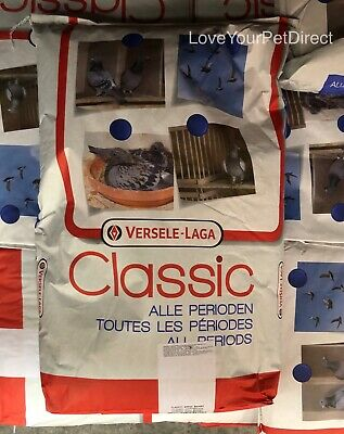 Versele Laga Classic Breeding & Sport Racing Pigeons Feed Food 20KG  BMFD DS