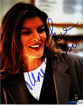 RENE RUSSO, ACTRESS AUTOGRAPHED INSCRIBED & SIGNED 8X10 PHOTO WITH COA