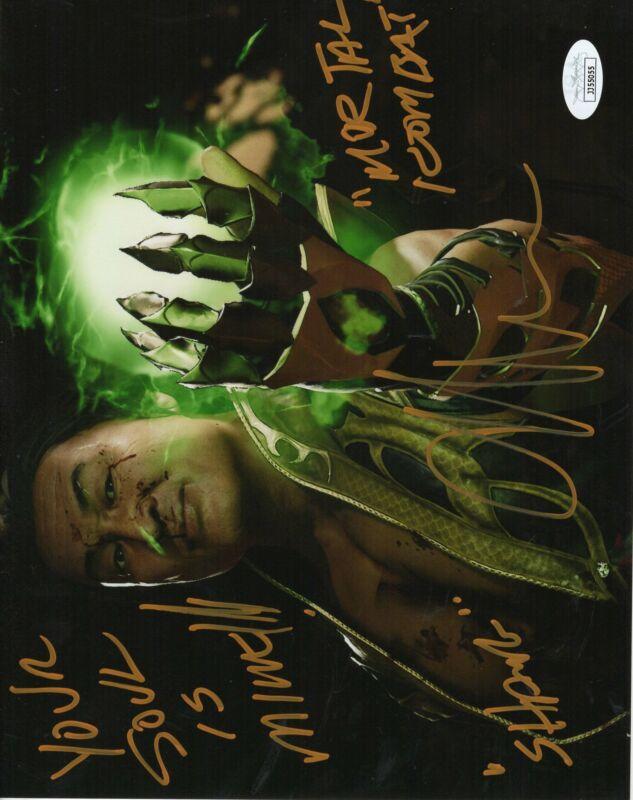 Cary-Hiroyuki Tagawa Autograph 8x10 Photo Mortal Kombat Signed JSA COA 4