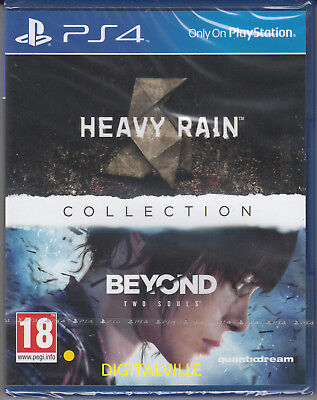 Heavy Rain & Beyond Two Souls Collection PS4 PlayStation 4 Brand New and - Beyond Collection