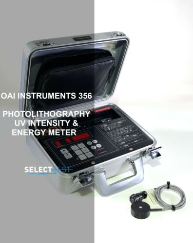 OAI INSTRUMENTS 356 PHOTOLITHOGRAPHY UV INTENSITY & ENERGY METER  (REF.: 922G)