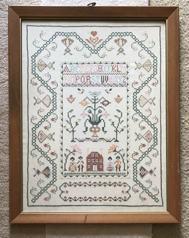 Vintage Cross Stitch/ Sampler