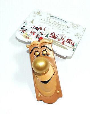 Disney Store Sketchbook Ornament Christmas Holiday Alice in Wonderland Door Knob ()