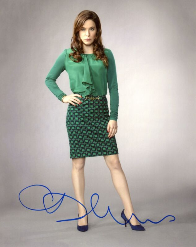 "Caroline Dhavernas ""Hannibal"" AUTOGRAPH Signed 8x10 Photo C"