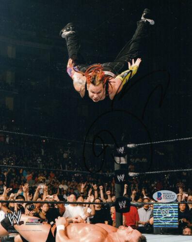 JEFF HARDY SIGNED AUTO WWE 8X10 PHOTO BAS BECKETT COA 19 BROTHER NERO HARDY BOYZ