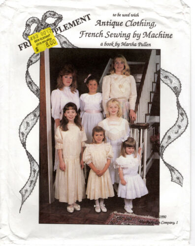 Victoria Rosemary Juliette Dresses Martha Pullen Patterns Antique Clothing Sewin